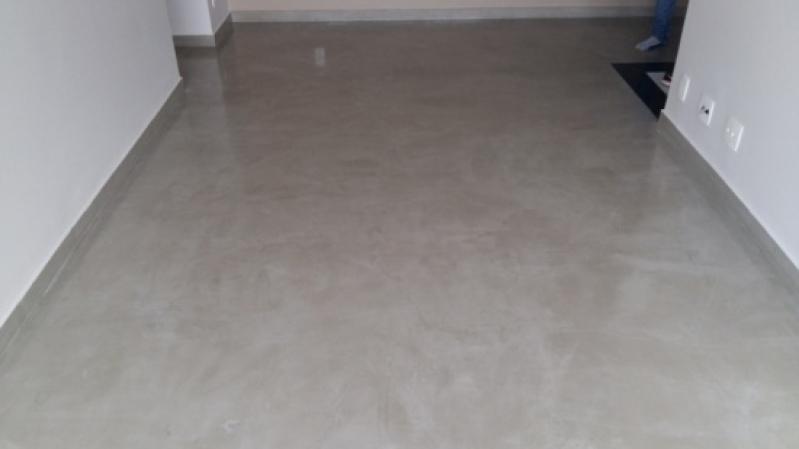 Fornecedor de Chão de Cimento Queimado Brooklin - Cimento Queimado Parede Externa