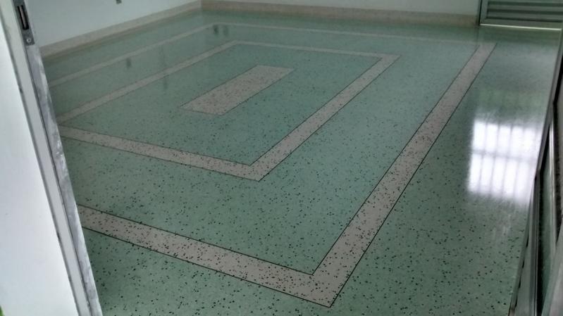 Fornecedor de Piso de Granilite Polido Brooklin - Piso Granilite Colorido