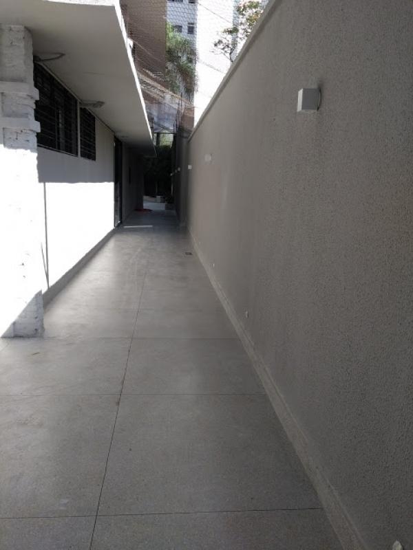 Piso de Granilite em Placas Valor Brooklin - Piso Granilite Garagem