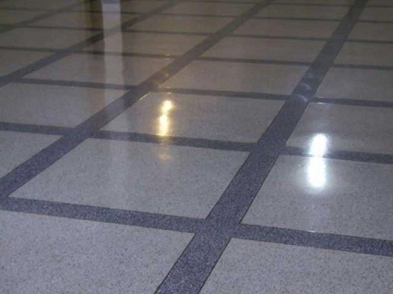 Piso de Granilite Polido Pinheiros - Piso Granilite em Placas