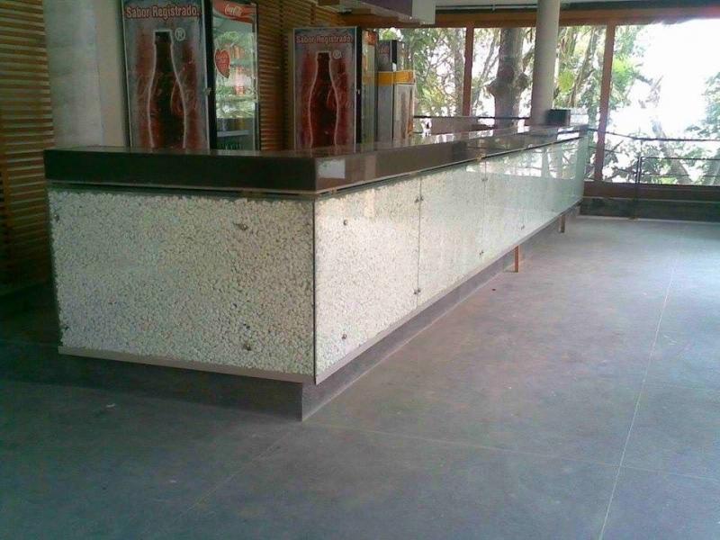 Piso Granilite 40x40 Perdizes - Piso Granilite Garagem