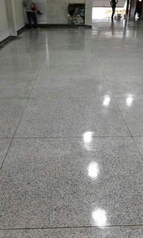 Piso Granilite em Placas Valor Perdizes - Piso Granilite Garagem