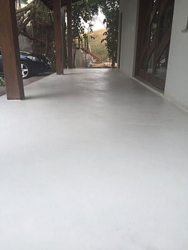 Qual o Preço de Cimento Queimado para área Externa Santa Cecília - Cimento Queimado para Parede
