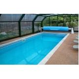 empresa de piso granilite para piscina Lapa