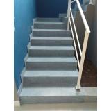 empresa de restauração de escada de granilite Vila Clementino
