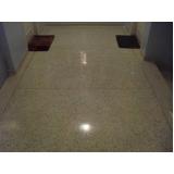 empresas de piso de granilite lapidado Santa Cecília