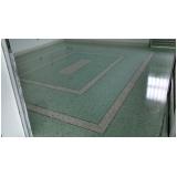 fornecedor de piso de granilite polido Faria Lima