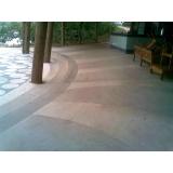 piso de granilite branco valor Jardim Paulistano
