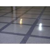 piso de granilite polido Higienópolis