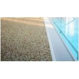 piso granilite antiderrapante Faria Lima