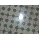 piso granilite azul Santa Cecília