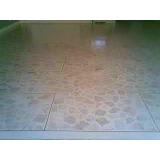 piso granilite branco Faria Lima