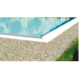 piso granilite para piscina preço Brooklin