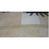 piso granilite área externa