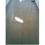 piso granilite polido Faria Lima