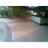 pisos de granilite branco Faria Lima