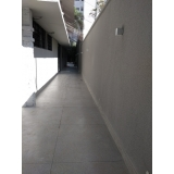 piso de granilite em placas