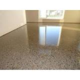 piso granilite cozinha