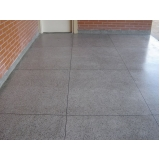 pisos granilite cinza Perdizes