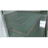 pisos granilite polido Lapa
