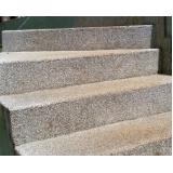 quanto custa granilite para escada Higienópolis