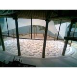 quanto custa piso de granilite branco Campo Belo