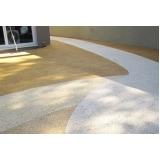 quanto custa piso granilite cores Faria Lima