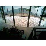 quanto custa piso granilite garagem Santa Cecília
