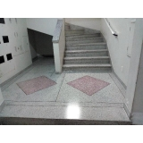 restauração de escada de granilite Pinheiros