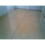 restauração de piso granilite Faria Lima