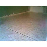 restauração em piso granilite Higienópolis